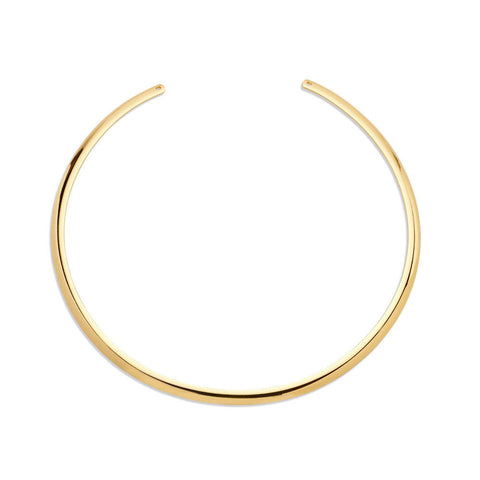 Delicate Gold Collar Necklace