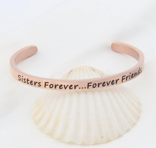Sisters, Friends Bracelet - 7 Charming Sisters, LLC