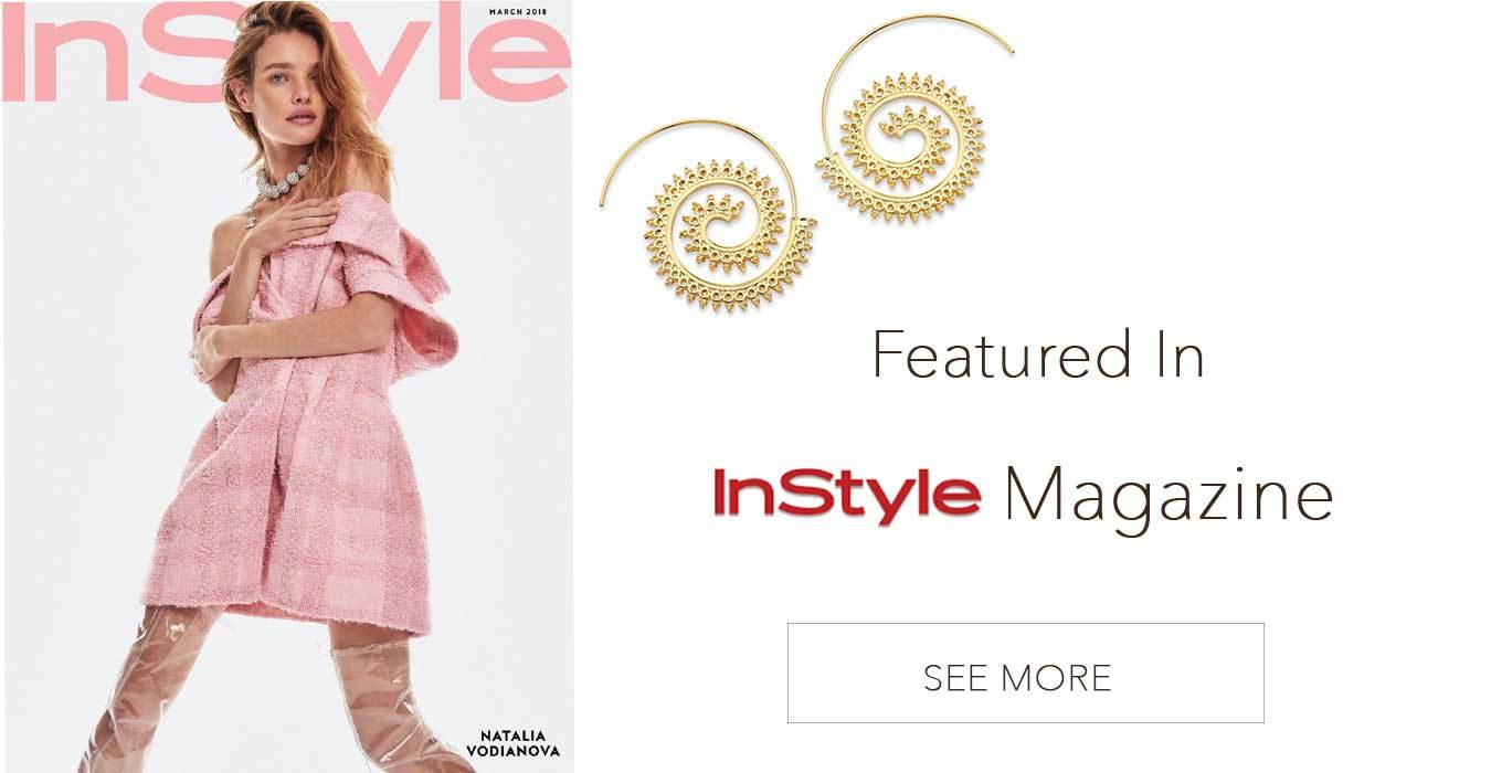 InStyle Magazine Boho Earrings