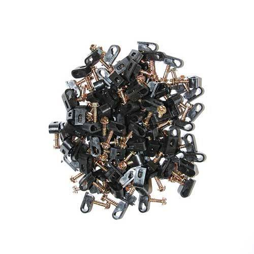 "do-it-yourself MistAway® 1/4"" BLACK Tubing Clamps"