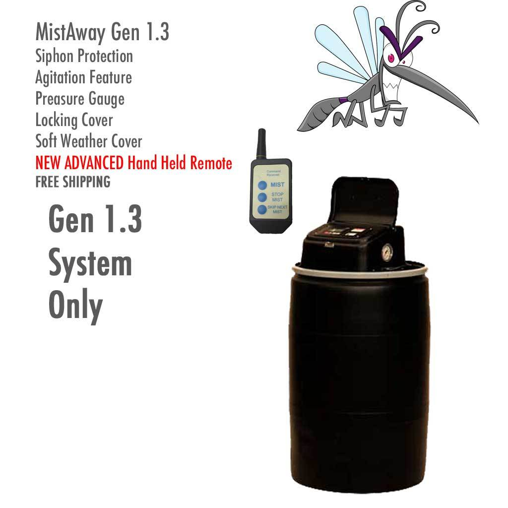 MistAway Gen 1.3 with Agitator (55 gal)-Automatic Mosquito Control
