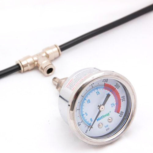 Mistaway Pressure Testing Gauge Automatic Mosquito Control