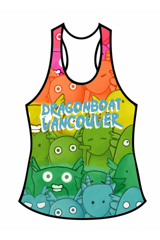 Little Monsters: Women's Athletic Tank Top
