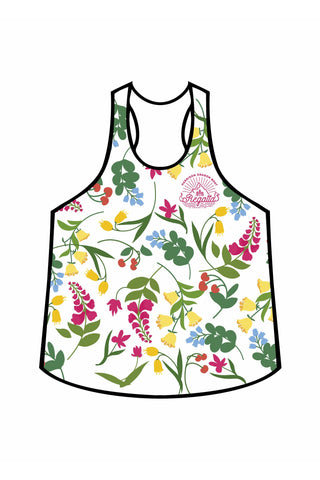 2018 Harrison-DBR: Summer Blooms - Women's Relaxed Tank Top
