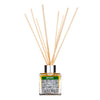 Luxury Diffuser with natural reeds and pure essential oils. Made with Lemon, Lemongrass & ginger