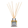 Luxury Diffuser with natural reeds and pure essential oils. Scented with cedar, sandalwood and orange.
