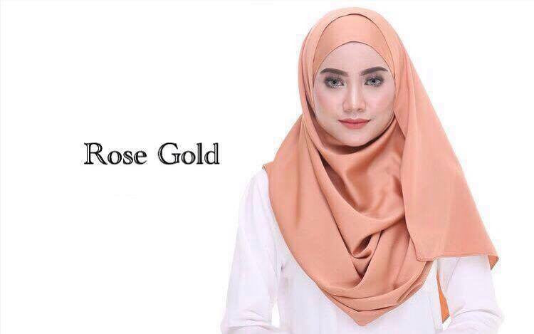 Rose Gold Shawl