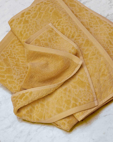 Gloriamaris Gold Organic Cotton Towels
