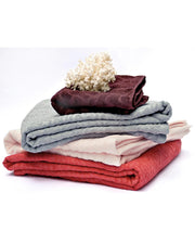 Affina organic cotton towels In patterns inspired by nature
