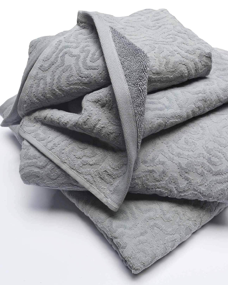 Strigosa Gray Organic Cotton Towels