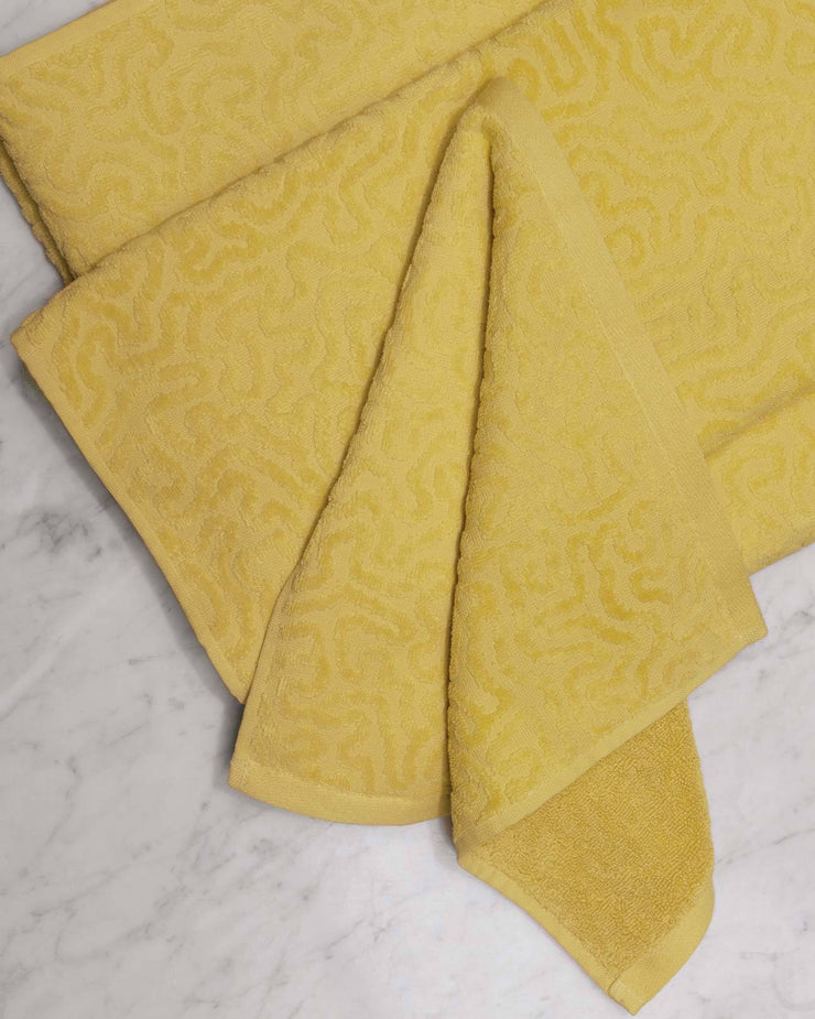 Strigosa Yellow Organic Cotton Towels