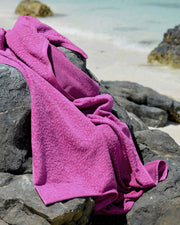 Ventalina Plum Organic Cotton Beach Towel