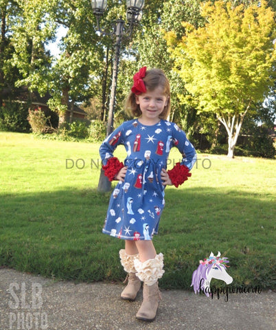 Nativity Holiday Dress CLEARANCE