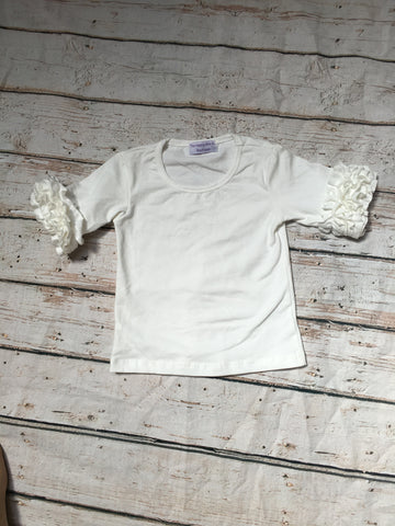 """QUINN"" ICING 3/4 TOP IVORY SALE"