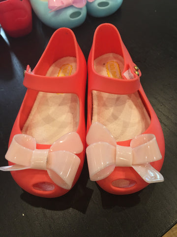 READY TO SHIP MINI MELISSA REMAKES-CLASSIC BOW