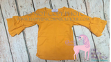 """Emma"" Long Sleeve Ruffle Top-SIZE 3T"