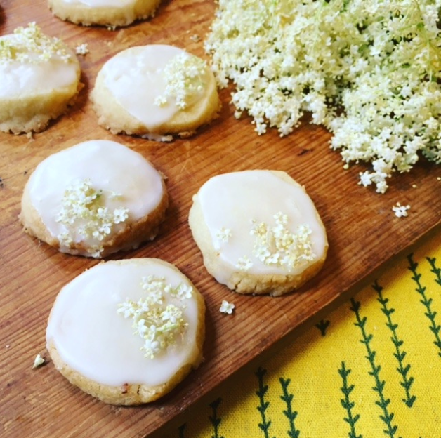 ELDERFLOWER SHORTBREAD RECIPE