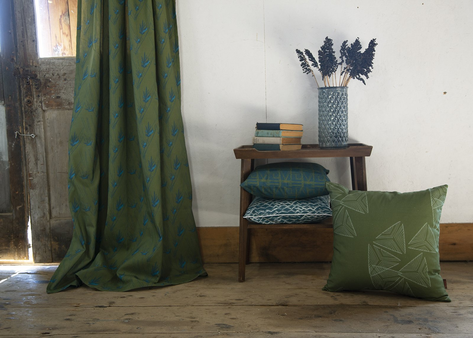 Maritime inspired curtain, blind and upholstery fabric by the meter or yard cotton, linen or canvas ships from Canada worldwide including the USA