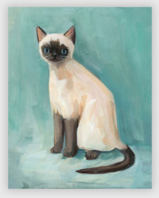 Alistair the Cat print poster by Emily Winfield-Martin ships from Canada worldwide including the USA