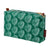 Moss Green Cotton Canvas Toiletry or wash travel Bag for cosmetics with water and stain resistant finish Canada USA