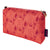Beakrush-floral-pattern-canvas-toiletry-travel-bag-terracotta-orange-canada-usa