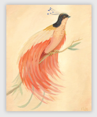 Bird of Paradise Print by Emily Winfield-Martin