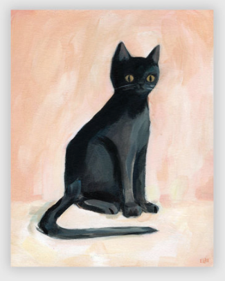 Claude the cat poster print by Emily Winfield Martin ships from Canada worldwide including the usa