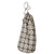Dorothy Geometric Pattern Printed Cotton Linen Drawstring Laundry & Storage Bags - Stone Grey - ships from Canada (USA)