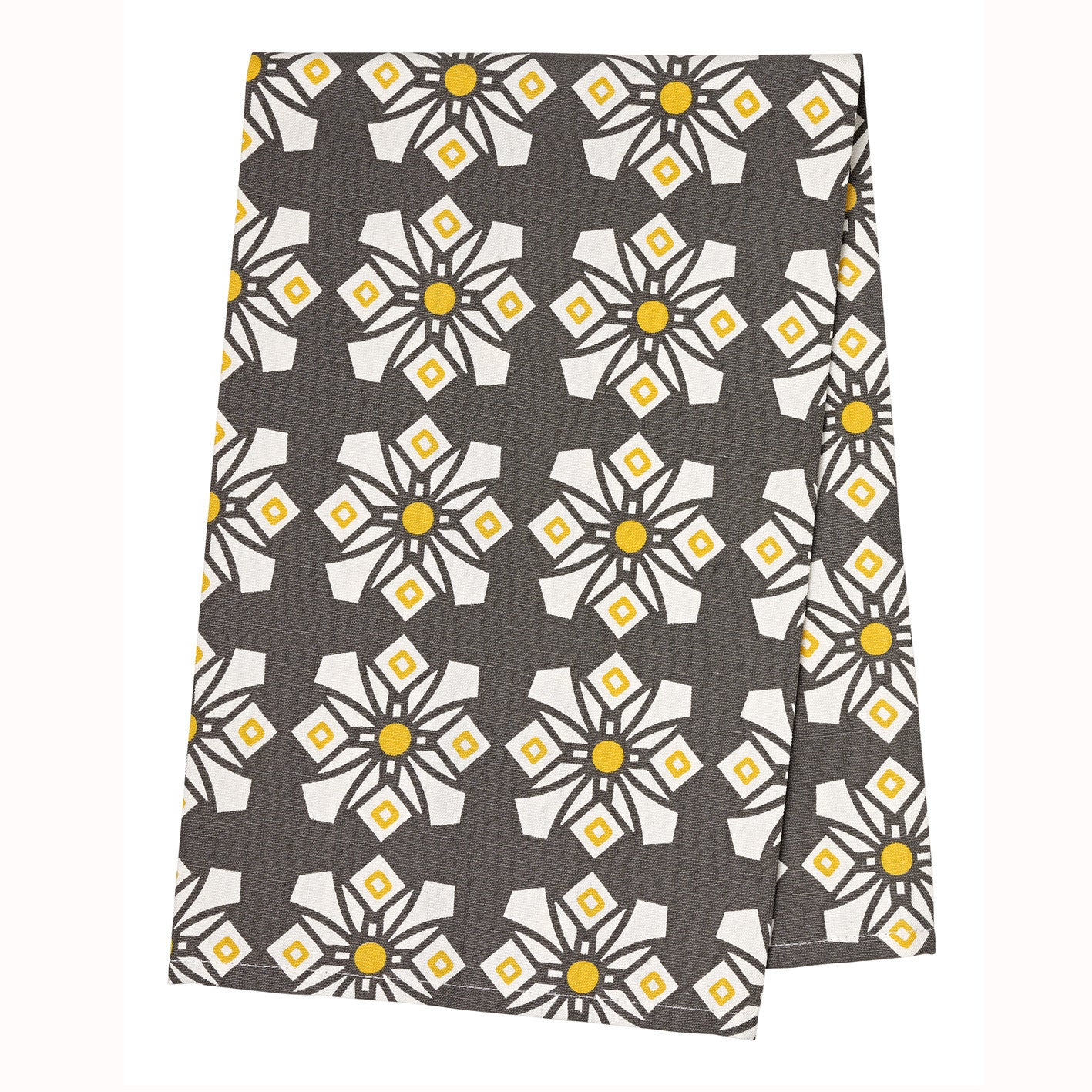 Dorothy Tea Towel - Stone Grey
