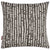 Hopi Graphic Patterned Linen Cotton Throw Pillow Cushion in Stone Grey Canada Usa