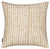 "Hopi Graphic Patterned Linen Union Decorative Throw Pillow (Cream) Earth 45x45cm 18x18"" Ships from Canada worldwide including the USA"