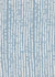 Hopi Graphic Strung Bead Pattern Linen Cotton Fabric in Light Chambray Blue