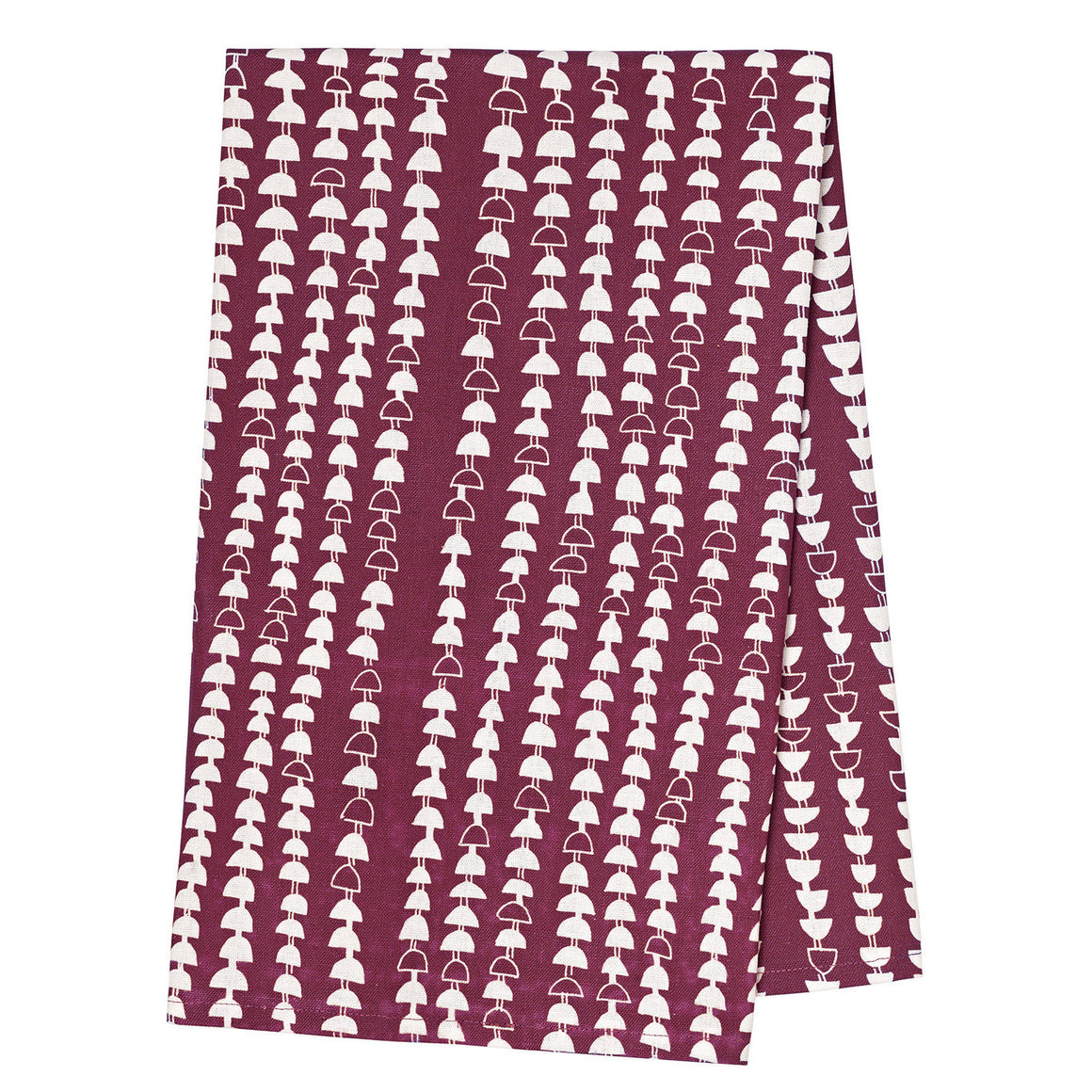 Hopi Tea Towel - Vermilion Red