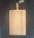 "Large Oak Cutting Board with Handle 23"" x 12"" width x depth 3/4""(57.5x30x2cm)"