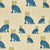 Graphic Leopard Pattern Printed Linen Cotton Canvas Home Decor Fabric by the meter or by the yard for curtains, blinds or upholstery in Petrol Blue, Winter Blue and Mustard Yellow ships from Canada (USA)