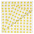 London Polka Dot Pattern Napkins in Bright Maize Yellow