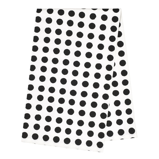 London Tea Towel - Black