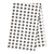 London Tea Towel - Stone Grey