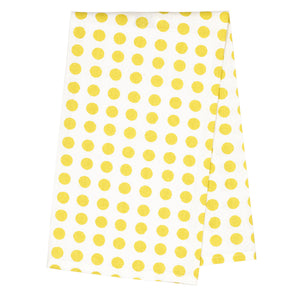 London Tea Towel - Maize Yellow