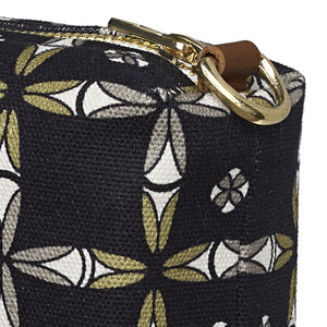 Navajo Ethnic Geometric Pattern Canvas Toiletry Travel or Wash Bag in Black Perfect for all your beauty and cosmetic needs while travelling Ships from Canada (USA)