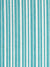 Palermo Ticking Stripe Cotton Linen Home Decor Fabric by the Meter or by the yard in Pacific Turquoise Blue for curtains, blinds or upholstery ships from Canada