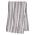 Palermo Stripe Tea Towel - Stone Grey