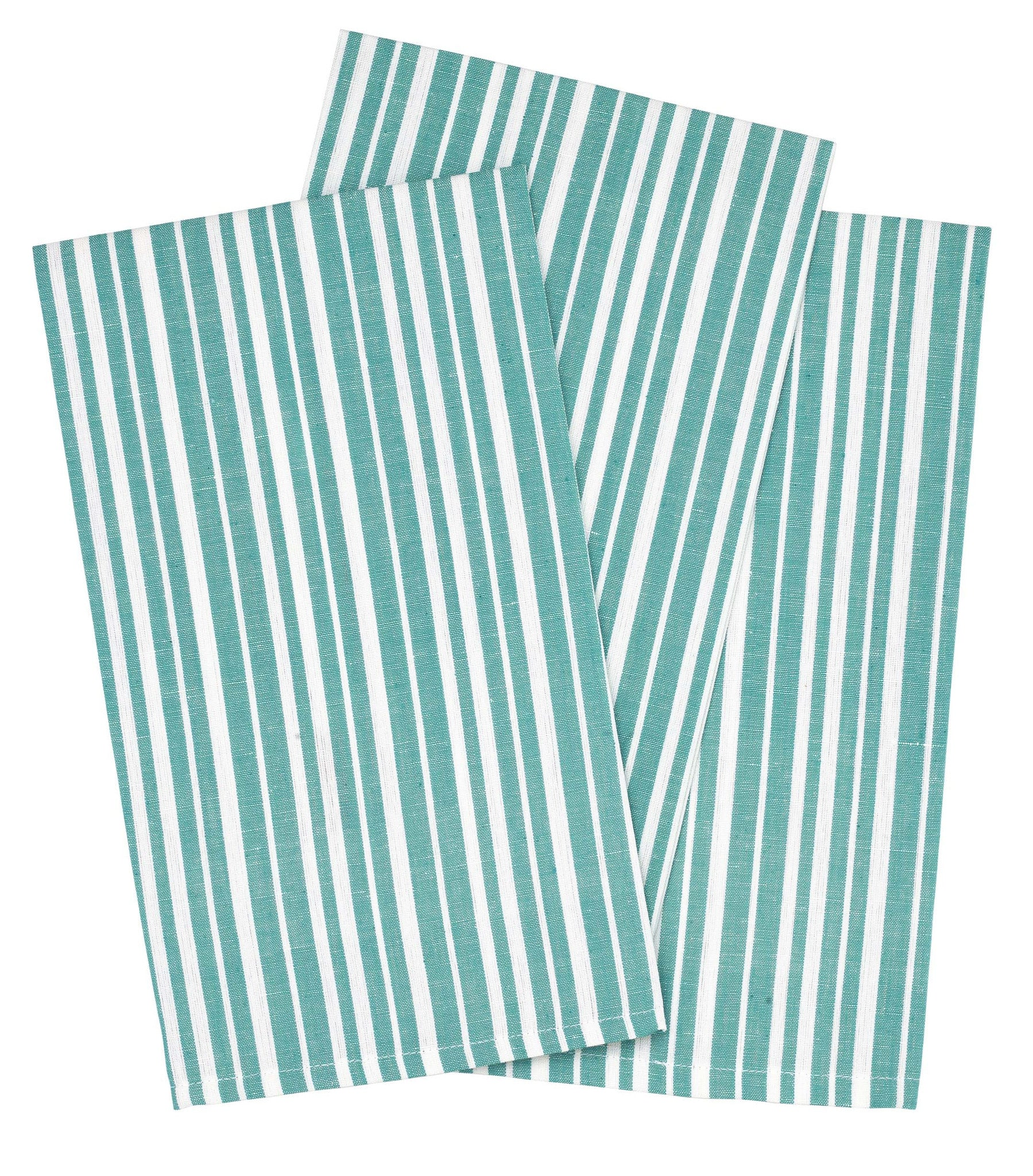 Palermo Stripe Tea Towel - Pacific Blue