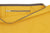 Paula Resin Coated Cotton Canvas Overnight Cabin Bag Pocket in Maize Yellow