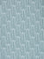 Graphic Rosemary Sprig Pattern Printed Linen Cotton Canvas Home Decor Interiors Fabric by the yard or meter for curtains, blinds upholstery in Pale Winter Blue and Dark Petrol Blue ships from Canada (USA)