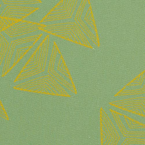 Sails pattern home decor interiors fabric for curtains, blinds and upholstery in Sea foam green and mustard yellow sold by the meter ships from Canada worldwide including the USA
