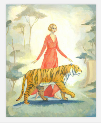The Tigers Bride print posterby Emily Winfield-Martin ships from Canada worldwide including the USA