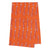 Ukelele Tea Towel - Pumpkin Orange