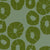 Jellyfish pattern home decor interiors fabric for curtains, blinds and upholstery in sea foam and olive green ships from Canada to USA sold by meter or yard