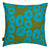 Jellyfish-decorative-throw-pillow-olive-green-turquoise-blue-canada-usa-55cm-22""